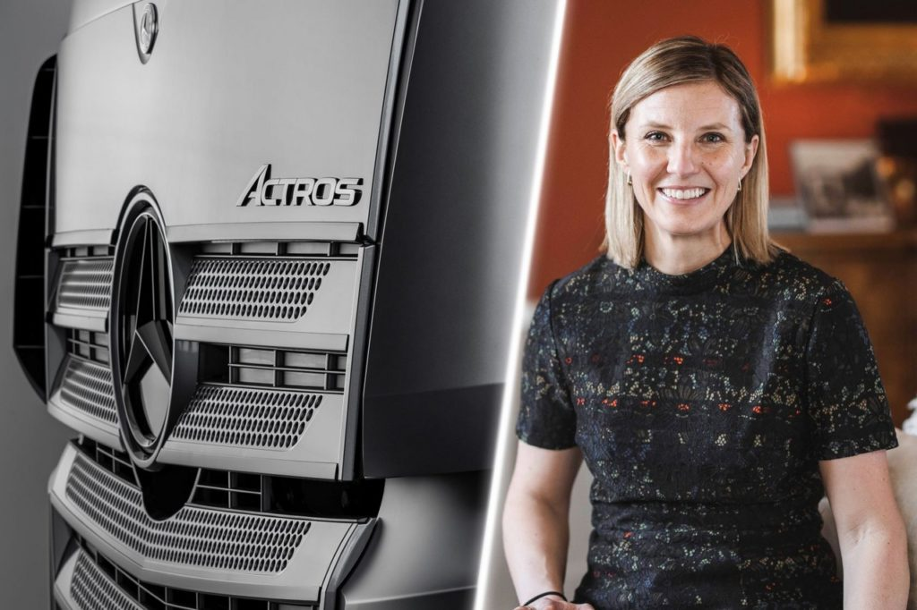 Karin Rådström prend la direction de Mercedes-Benz Trucks