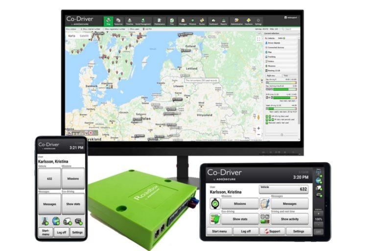 Ambroise Bouvier Transports teste la nouvelle version de Co-Driver d'AddSecure.