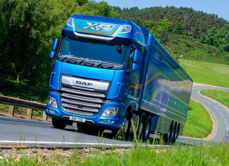 "Le DAF XF élu ""Fleet Truck of the Year 2020""."