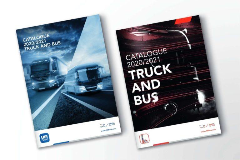 • La première édition des catalogues imprimés UFI et SOFIMA 2020/2021 consacrée exclusivement aux poids lourds routiers.