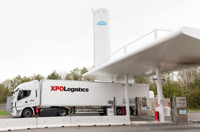 Pour transporter le gaz à l'état liquéfié, XPO Logistics a investi dans des citernes cryogéniques.