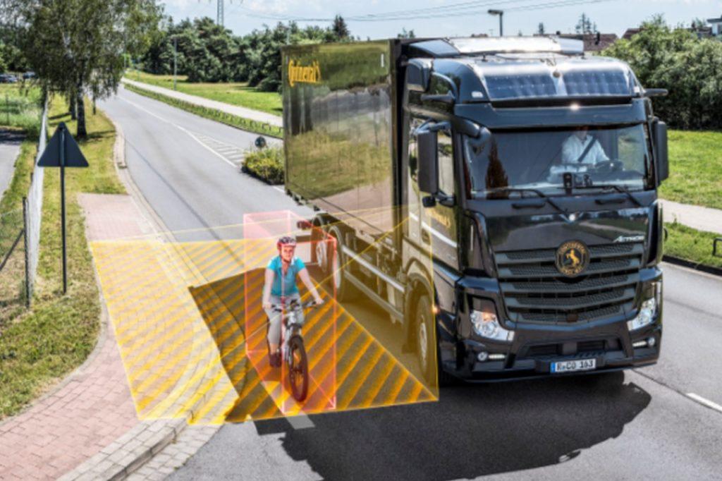 Le système de RightViu de Continental détecte les usagers vulnérables de la route à l'aide de radar.