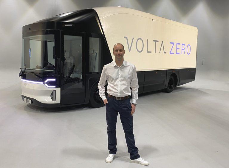 Rob Fowler, directeur général de Volta Trucks.