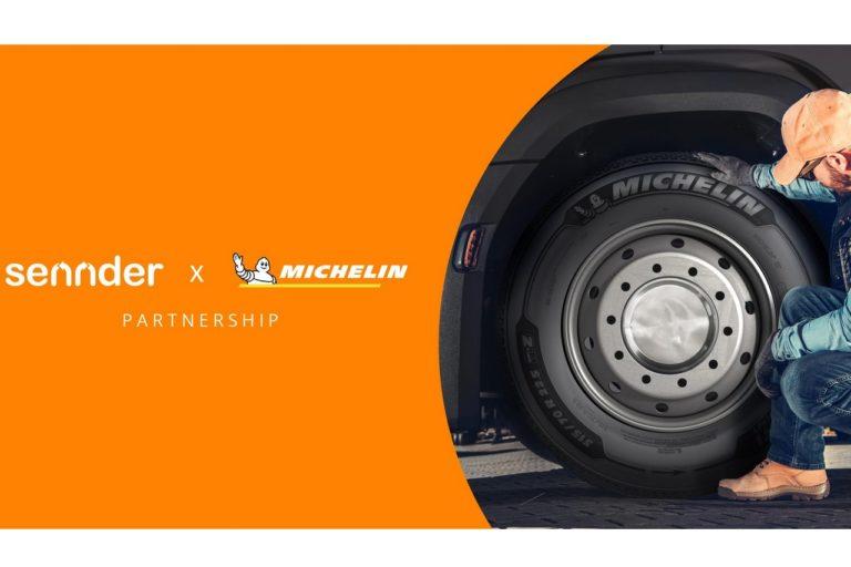 Michelin vient de conclure un accord avec sennder, afin d'offrir aux transporteurs un accès étendu aux gammes de pneus Michelin à des conditions particulières.