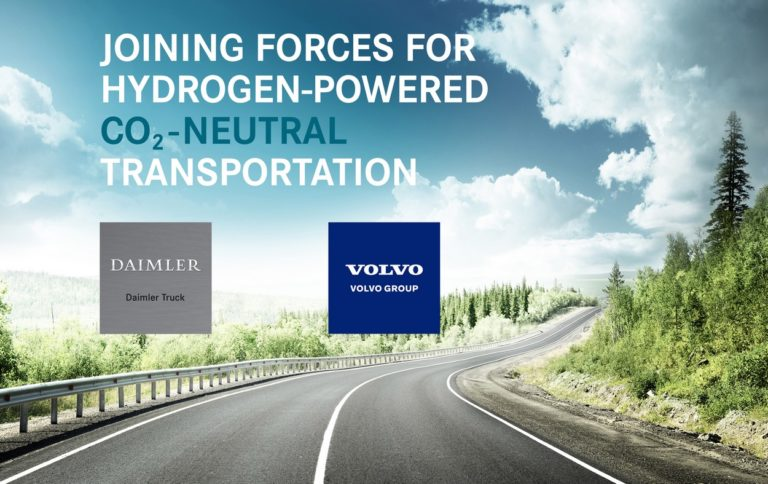 Hydrogène : Volvo et Daimler Truck finalisent leur alliance avec cellcentric.