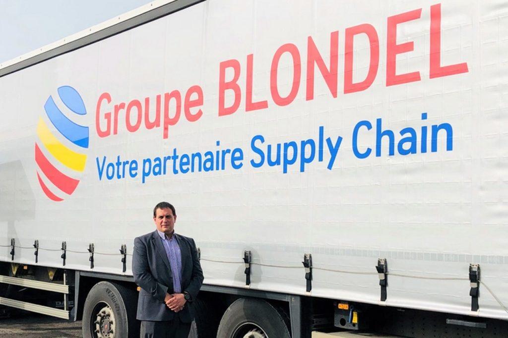 Le Groupe BLONDEL fait confiance à Shippeo pour digitaliser ses opérations de transport.