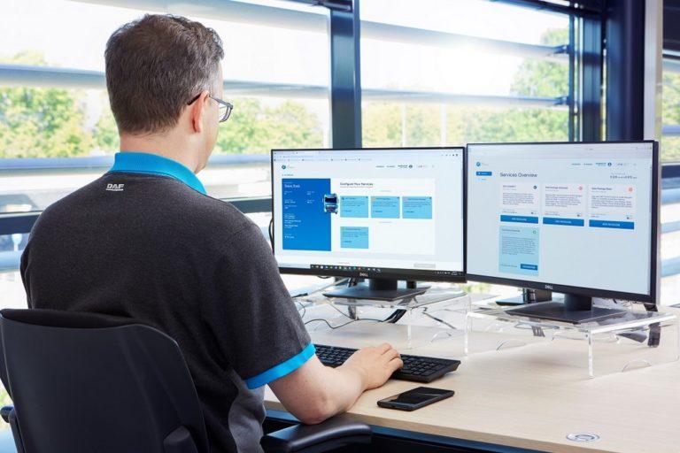 DAF Trucks introduit une fois de plus de nouvelles fonctionnalités au système de gestion de flotte DAF Connect en ligne.