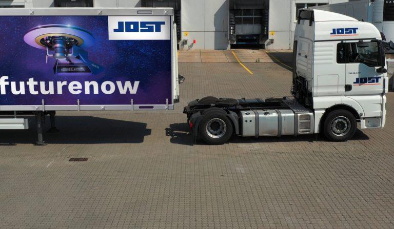 Avec KKS, Jost fournit une solution d'attelage avant-gardiste particulièrement intelligente.
