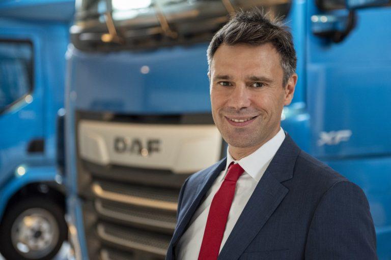 Renaud Dehillotte est le nouveau directeur général de DAF Trucks France.