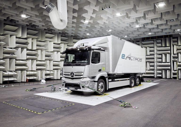 La production de l'eActros débutera en série dans l'usine de Wörth-am-Rhein dans la seconde moitié de l'année 2021.