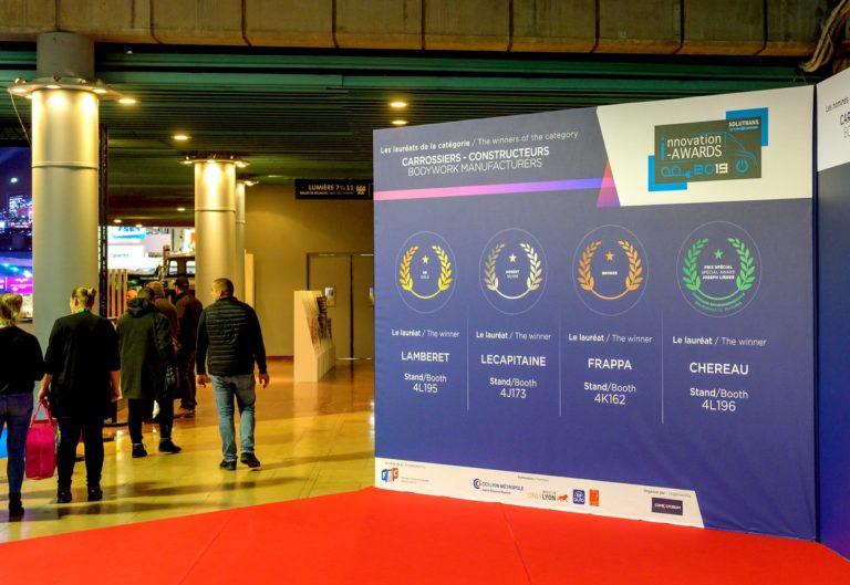Jusqu'au 25 octobre, les exposants de Solutrans peuvent déposer leurs candidatures en ligne, dans leur espace dédié, sur le site du salon.