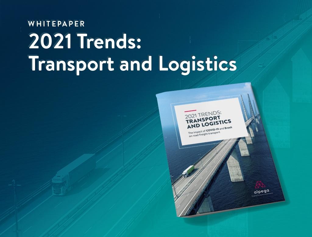 Le groupe Alpega publie une étude sur l'impact de la pandémie sur le transport routier de marchandises.