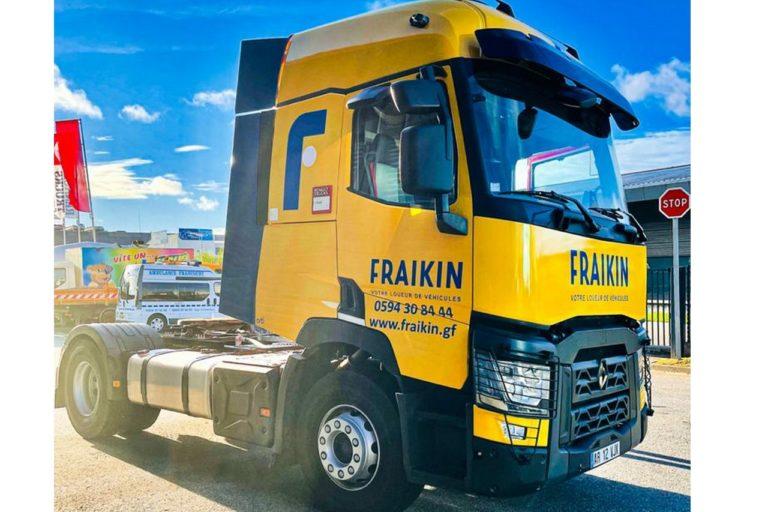 Le groupe Fraikin se renforce dans les DOM-TOM avec l'ouverture d'une agence en Guyane.