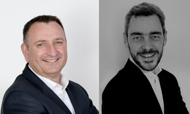 Laurent Martin et Guillaume Papillard, nouveaux directeurs des business units seafood et conditionnement de Stef France.
