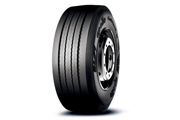 Apollo Tyres Europe a lancé son tout nouveau pneu pour remorque nouvelle génération : l'EnduRace RT2.