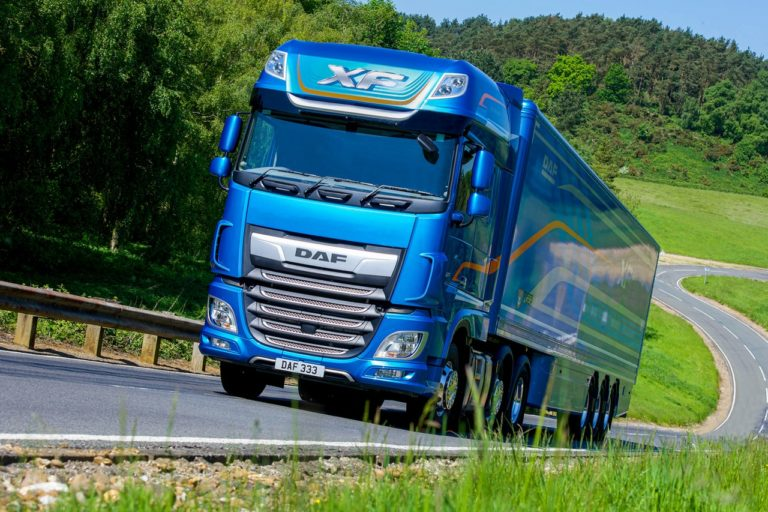 """Le DAF XF a été élu pour la 3e année consécutive """"Fleet Truck of the Year""""."""